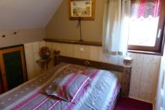 La troisième chambre double se trouve à l'étage
