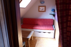 Le petit salon détente à l'étage