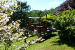 La terrasse pour la détente